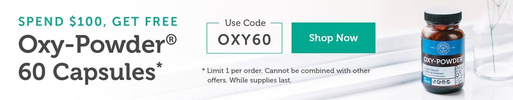 Oxy Powder Promo