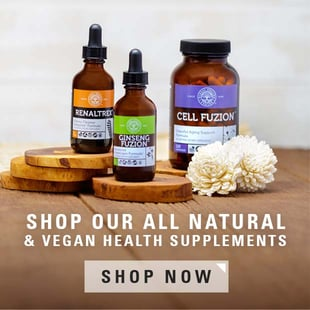 All natural health supplements
