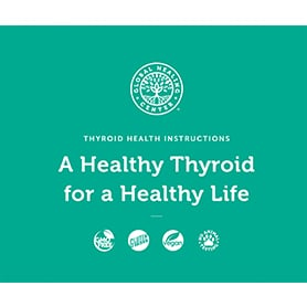 Thyroid Health Kit instructions booklet cover