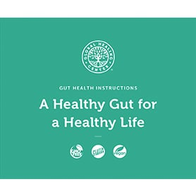 Gut Health Kit instructions booklet cover