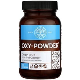 Oxy-Powder Colon Cleanse Supplement 60 capsules bottle