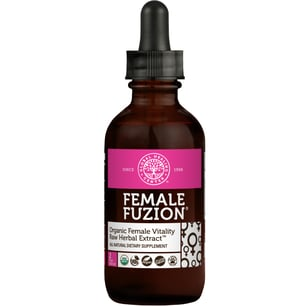 Female Fuzion® Vitality & Hormone Balance supplement 2 fl oz bottle